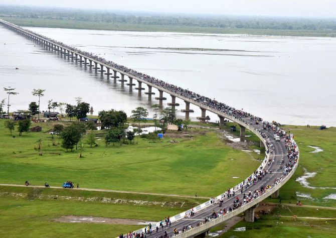 Take 'restrained and measured' approach: China to India on Bhupen Hazarika bridge