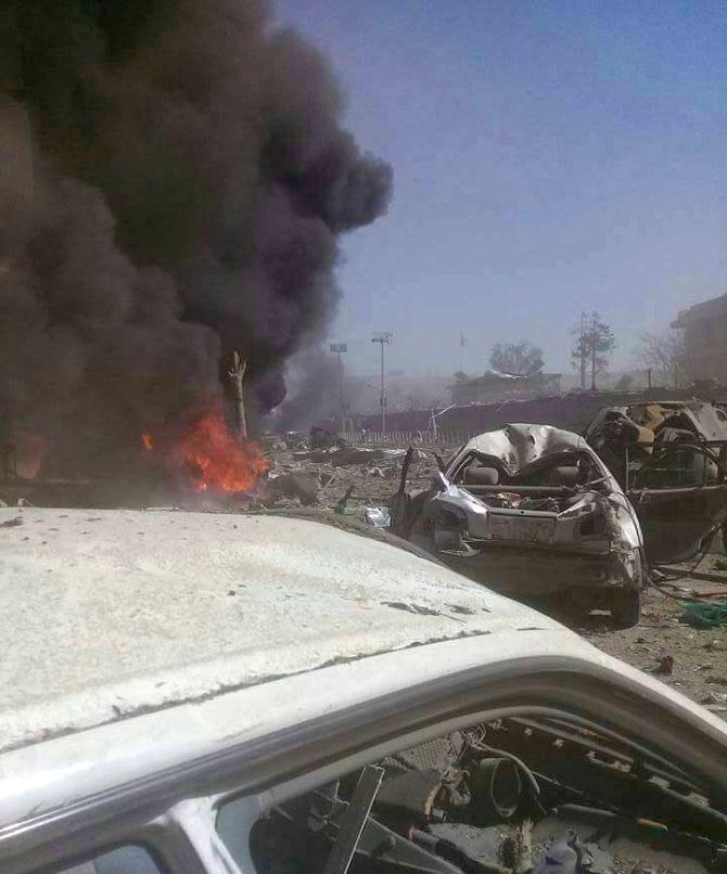 Suicide car bomb kills 90 in Kabul's diplomatic quarter