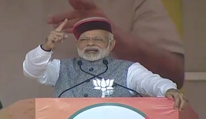 Congress is like termites, wipe them out: Modi to Himachal voters