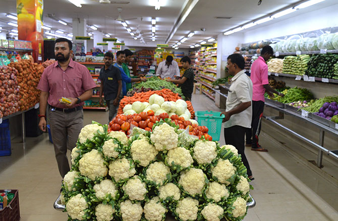 Senthil Natarajan at his store