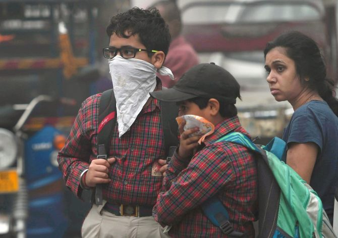 How Delhi is battling with toxic smog