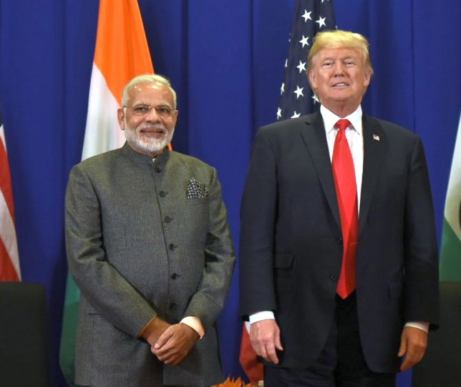 Image result for modi and trump