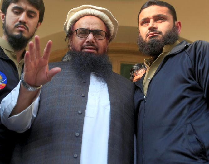 Saeed's arrest result of US 'great pressure': Trump