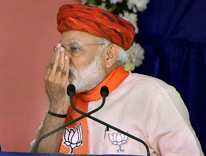 Indira Gandhi held her nose here: PM Modi in Gujarat's Morbi