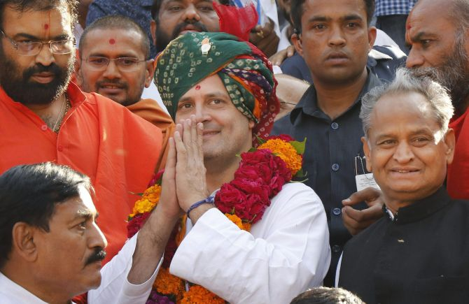 In Gujarat, Rahul promises farm loan waiver, free college education