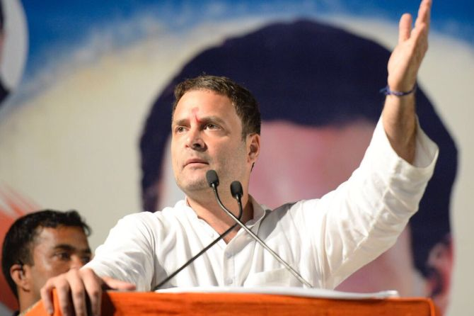 Youth ask for jobs, govt says look at moon: Rahul