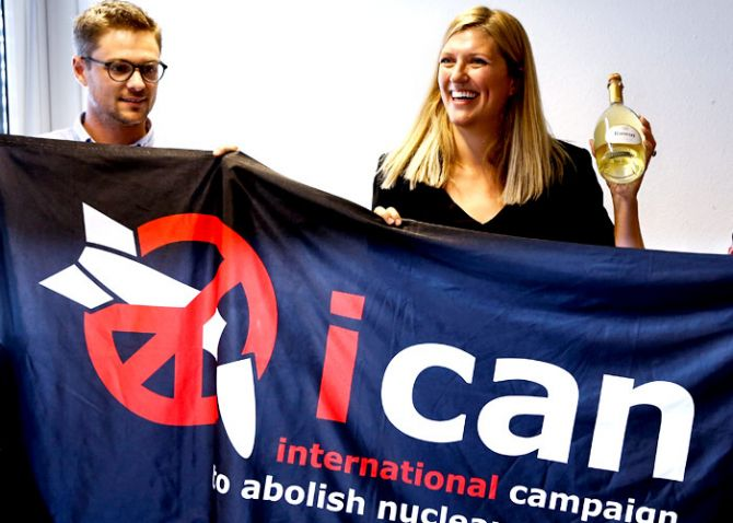 Beatrice Fihn, Executive Director, ICAN