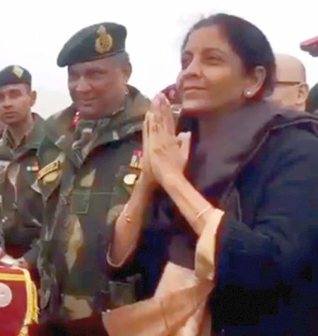 China goes gaga over Nirmala's video teaching namaste to its troops