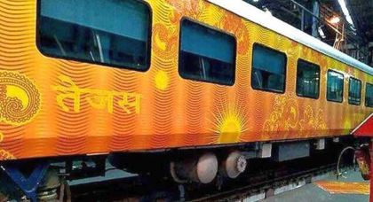 Tejas Express passengers to be compensated for delay