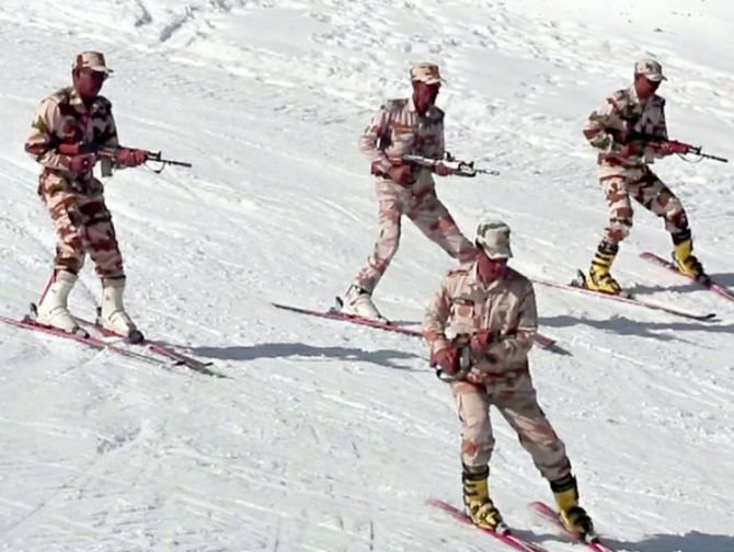 50 new ITBP posts along China border, troops to learn Chinese: Rajnath