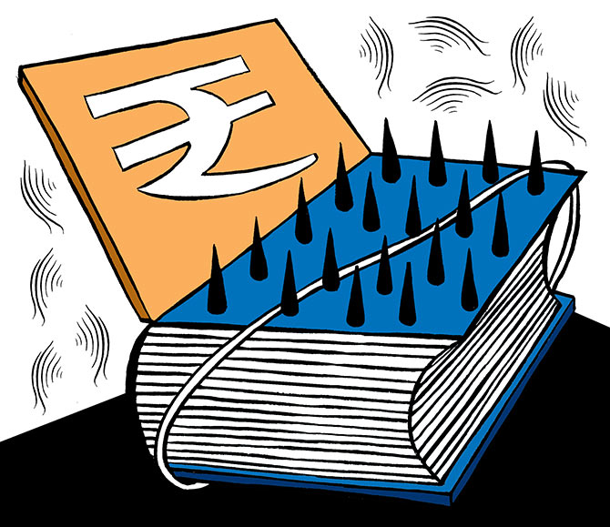 Fiscal deficit touches 128.5% of budget estimate