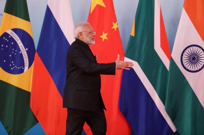 Modi BRICS Summit