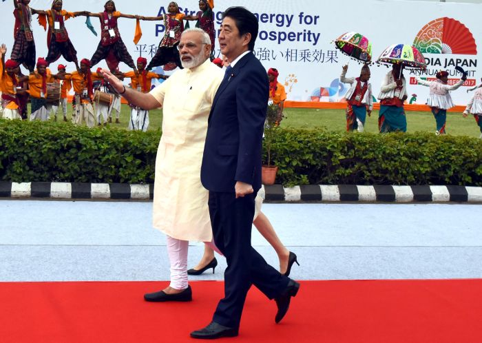 China likely to be focus of Modi, Abe defence talks