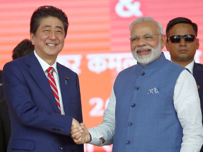 Japan PM may cancel India trip amid protests in Assam