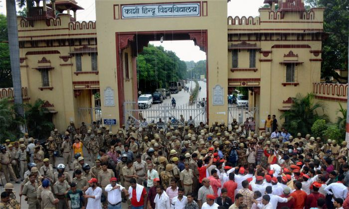 ABVP ends protest at BHU after Muslim prof quits