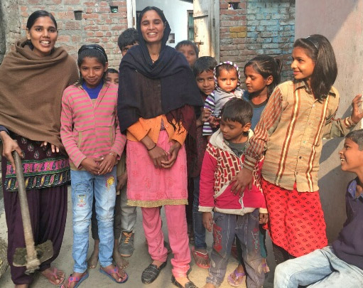 Dalits girls in Saharanpur