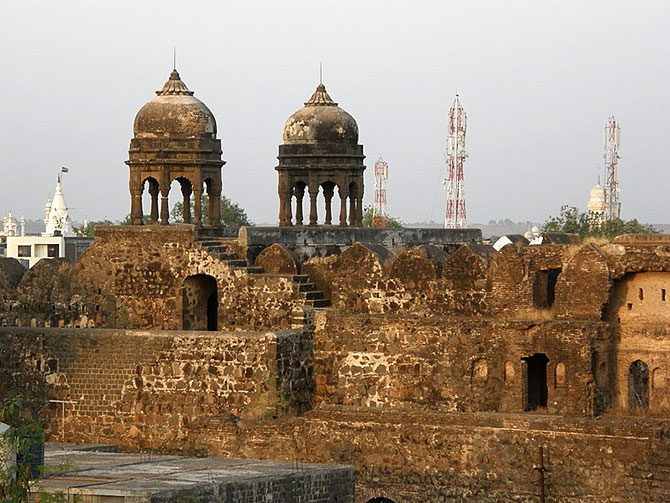 Malegaon fort. Kind courtesy: Wikipedia