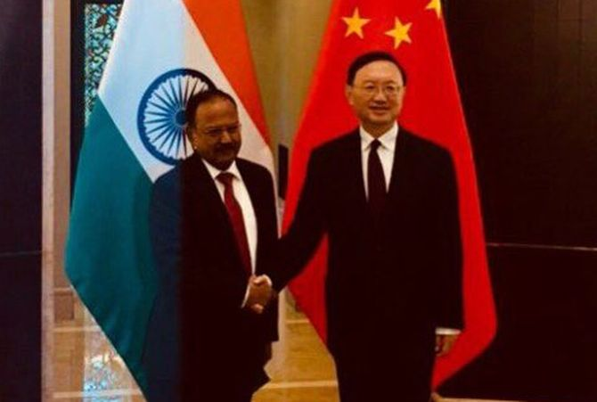 NSA Doval holds talks with China's top CPC official