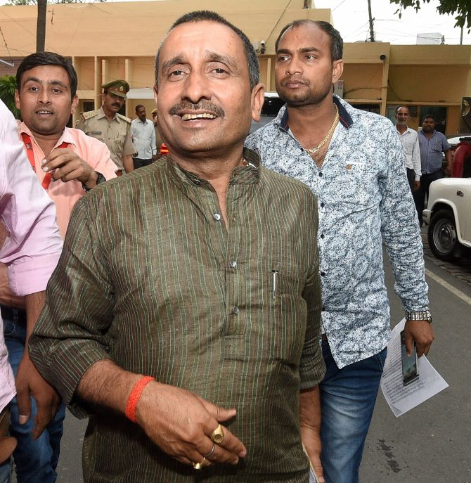 Ex-BJP MLA Kuldeep Sengar convicted in Unnao rape case