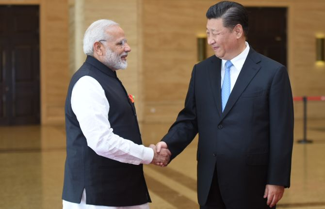 Kashmir won't be 'major topic' during Modi-Xi meet