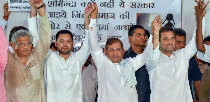 India News - Latest World & Political News - Current News Headlines in India - Grand Alliance announces seat-sharing in Bihar, not to back Kanhaiya