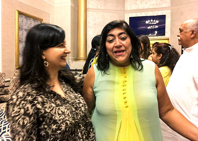 With director Gurinder Chadha