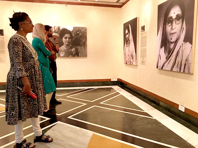 Partition exhibition