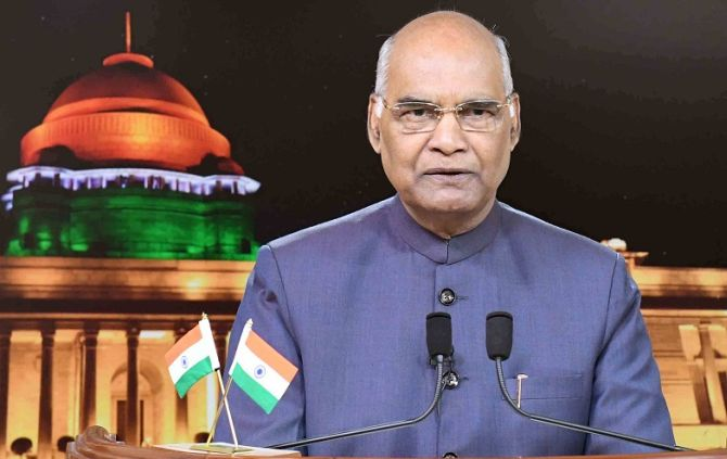 Let contentious issues not distract us: Prez in I-Day address