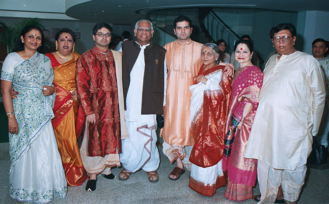 The Chatterjee family