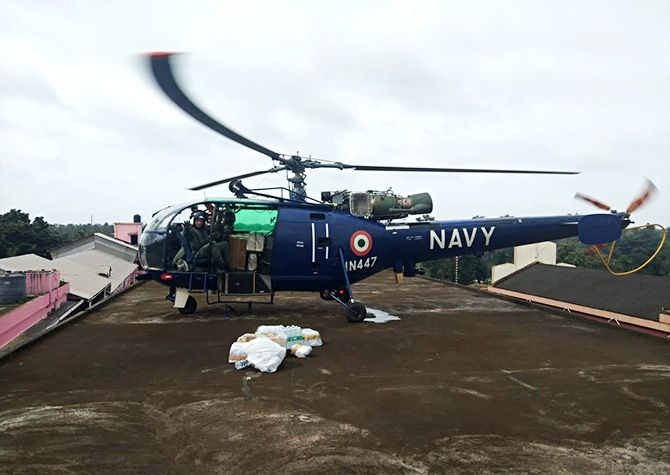 Indian Navy Commander who rescued four pregnant women
