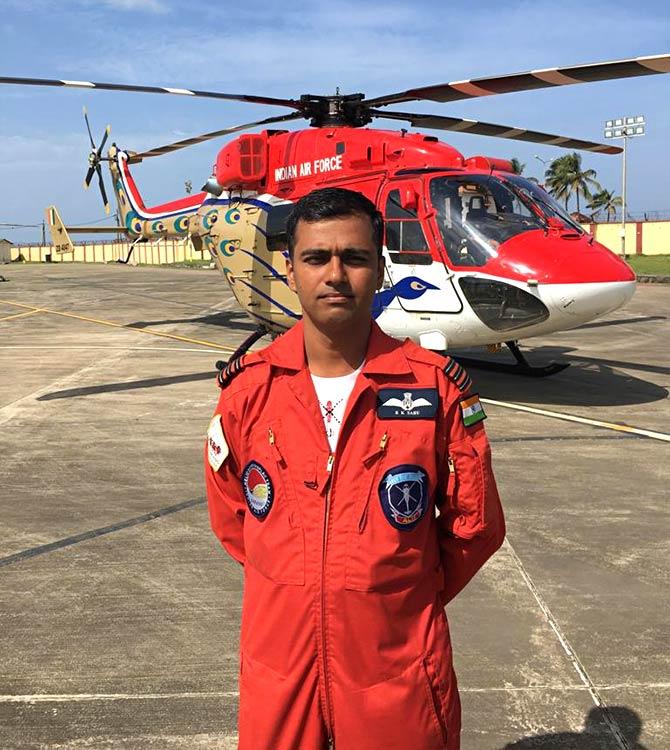 Wing Commander B K Sahu