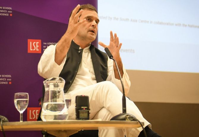 At LSE, Rahul says Rafale deal was changed to favour an industrialist