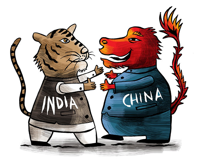 India's stature is growing in Chinese eyes