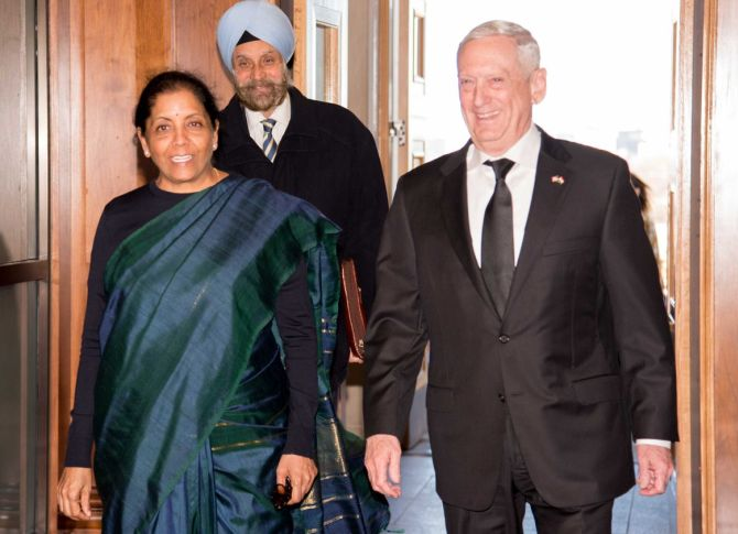 India, US agree to accelerate defence, security ties