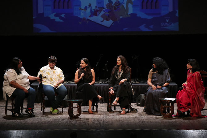 MeToo discussion at Jaipur litfest curtain raiser