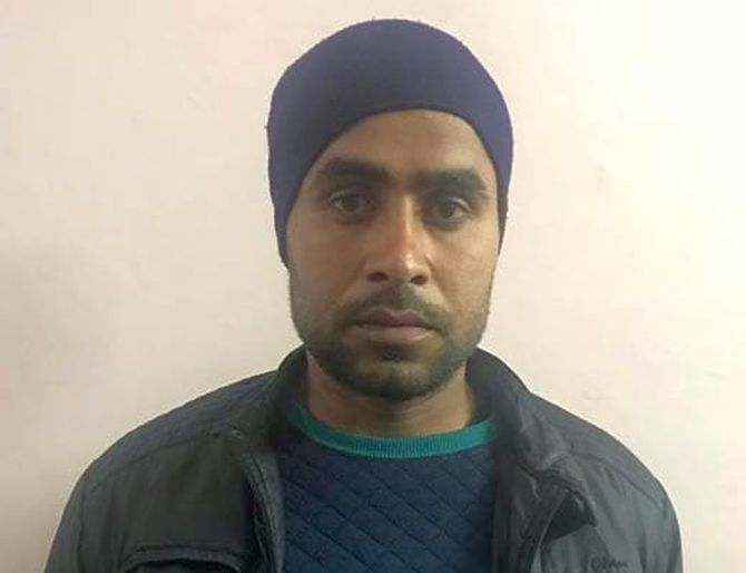 Jitendra Malik, an Indian Army soldier was arrested for his alleged involvement in the killing of police Inspector Subodh Kumar Singh during mob violence in Bulandshahr, Uttar Pradesh, December 3, 2018. Photograph: ANI