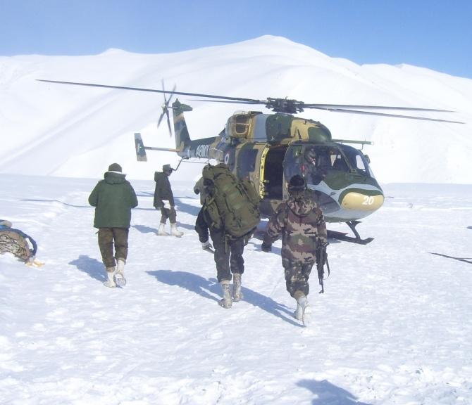 HAL chopper is now Siachen ready