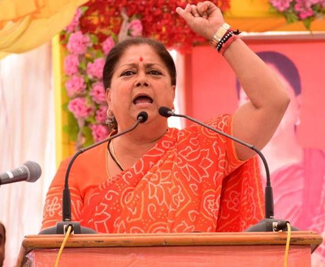Raje, Pilot, Gehlot: The big winners and losers