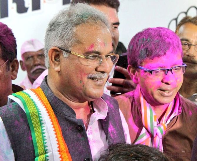 Controversy's child frontrunner for Chhattisgarh CM