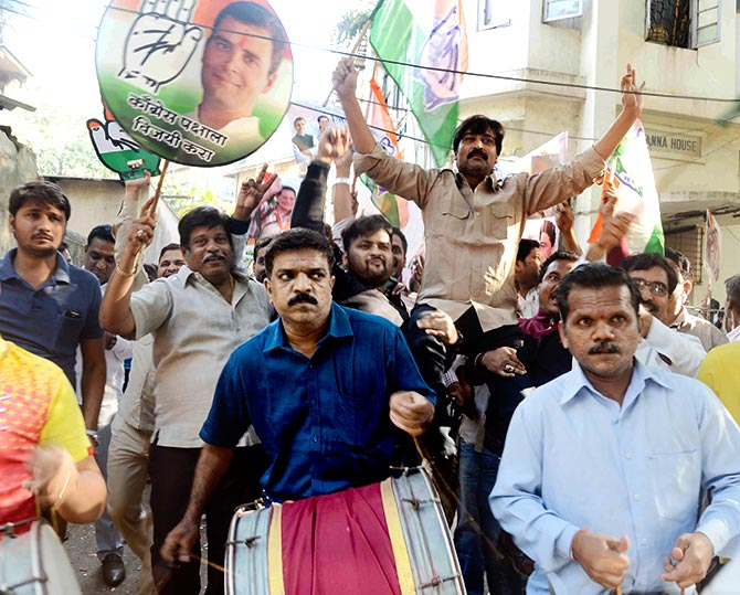 MP cliffhanger ends with Congress largest party but short of majority
