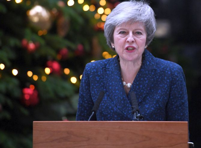 India News - Latest World & Political News - Current News Headlines in India - British PM May to face leadership challenge over Brexit