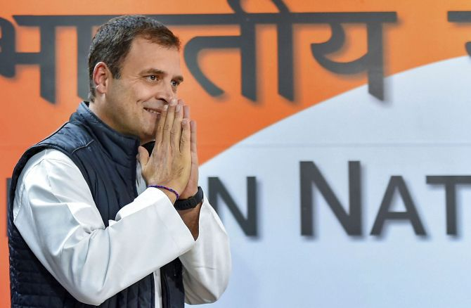 Rahul says party, not him, will decide on new chief
