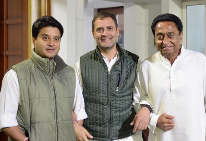 Kamal Nath made MP CM after day-long parleys at Rahul's residence