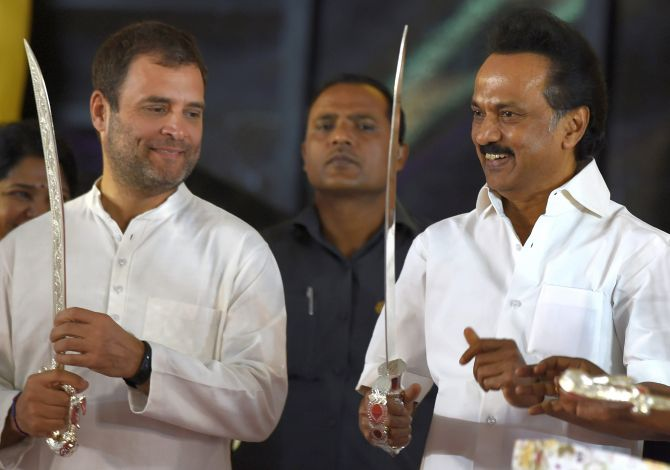 India News - Latest World & Political News - Current News Headlines in India - Stalin bats for Rahul Gandhi as next PM to defeat 'fascist Modi govt'