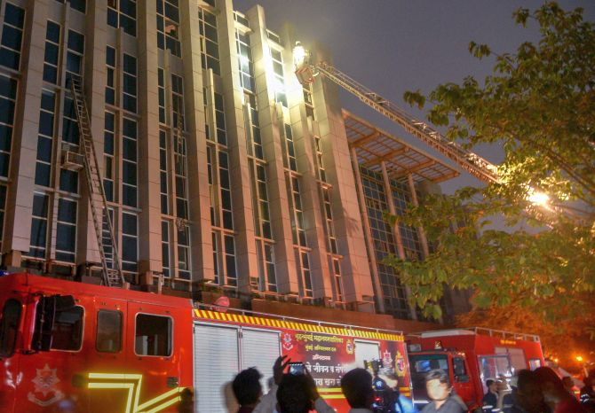 India News - Latest World & Political News - Current News Headlines in India - 6 dead, 141 injured in Mumbai hospital blaze