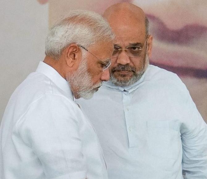 Narendra Damodardas Modi and Amit Anilchandra Shah