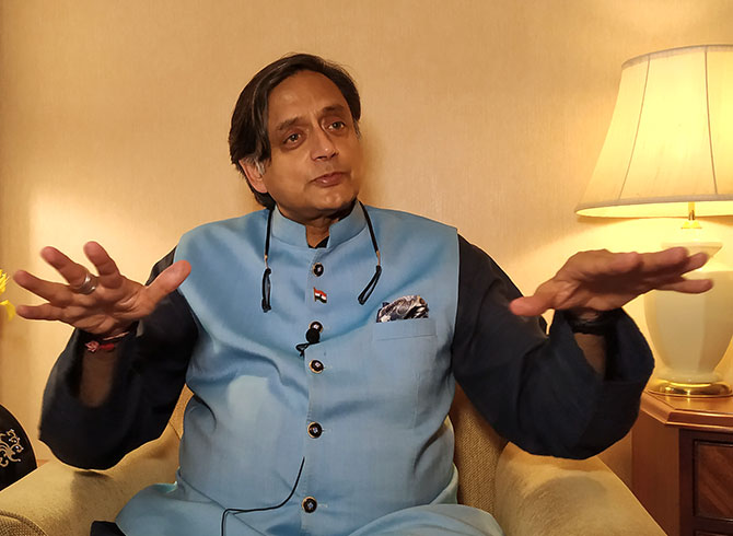 CWC must hold leadership polls: Tharoor