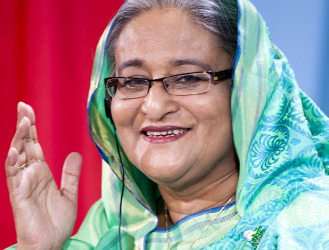 India News - Latest World & Political News - Current News Headlines in India - Hasina secures 3rd straight term after landslide victory in Bangladesh polls