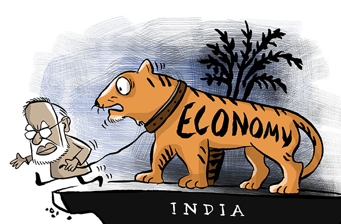 'India is still fastest growing large economy'