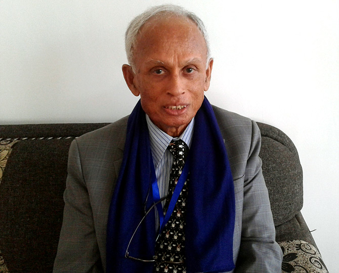 Professor Asit Biswas. Photograph: M I Khan